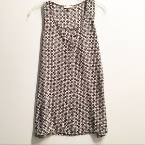 Pleione Sleeveless Keyhole Tank Blouse Size Small